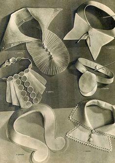 1930's Detachable Collars