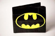 Batman Duct Tape Wallet