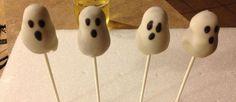 Halloween ghost cakepops