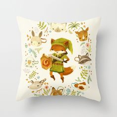 The Legend of Zelda: Mammal's Mask throw pillow #gaming #decor