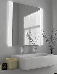 Find This Pin And More On Bathrooms Laria Fluorescent Illuminated Mirror
