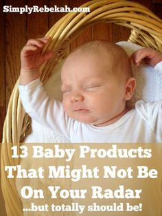 Just imagine that we are sitting on my couch and I'm sharing with you all the things I wish I had known when I was creating my baby registry.  These are 13 baby products you want to make sure to have on your registry.