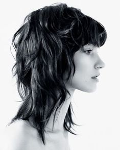 Mullet Haircut, Mullet Hairstyle, Cut My Hair, Hair Cuts, Hairstyles With Bangs, Cool Hairstyles, Celebrity Hairstyles, Wedding Hairstyles, Hair Inspo
