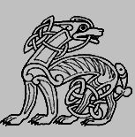 "celtic dog: ""symbolizes loyalty and the strong bond of companionship felt between human and animal. Considered to be good luck, the symbol of the dog was commonly found in Celtic art and decor."""