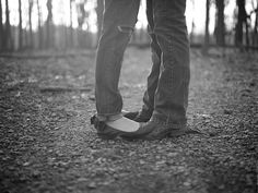 engagement shot:: feets!