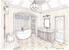 Image result for bathroom window sketch