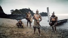 Maori – Living in New Zealand and Australia, the Maori's origins can be traced back to a mythical island known to them as Hawaiki, Eastern Polynesia. Word has it that they arrived at New Zealand in the 1300s, and developed their own culture and customs because of their isolation from the rest of the world.