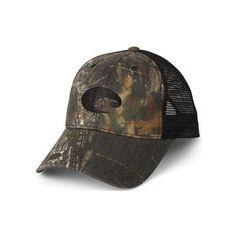 Costa Del Mar Mesh Hat - Mossy Oak New Break-Up + Black Hats For ac3bb461a1e0
