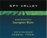 2011 Spy Valley Sauvignon Blanc, New Zealand, South Island, Marlborough from cellartracker - 87 points