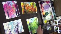 I am participating Mother Brook Open Studios this weekend (Nov. 14 and 15). at the event, I will demonstrate/workshop on Batik Style Painting technique on No...
