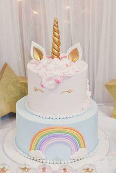 Sophia's Unicorn Birthday Party - Unicorn Party - Unicorn Cupcakes, Birthday Cupcakes, Unicorn Party, Unicorn Birthday Cakes, Party Cupcakes, 13th Birthday Parties, Birthday Party Themes, Kid Parties, Mouse Parties