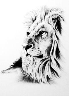 Lion Forearm Tattoos, Lion Head Tattoos, Mens Lion Tattoo, Body Art Tattoos, Lion Pictures, Pictures To Draw, Animal Sketches, Animal Drawings, Image Tatoo