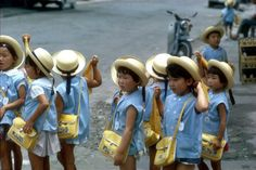 Japan...structured society begins at an early age..by school age, children already understand the important of respect