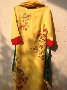 Indian Party Wear, Indian Wear, India Fashion, Fashion Wear, Kurta Designs, Blouse Designs, Embroidery Suits, Embroidery Designs, Indian Salwar Suit