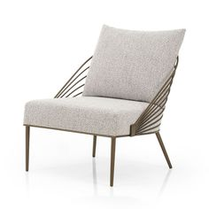 Deco Iron Back Chair Metal Frame Chair, Metal Chairs, Side Chairs, Bathroom Chair, Oversized Furniture, Chair And A Half, Mid Century Chair, Living Room Chairs, Wood And Metal