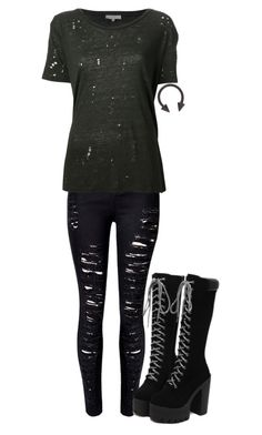 """Untitled #395"" by kylethevampire on Polyvore featuring IRO"