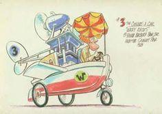 Colour Concept of No 3 The Convert a Car from Wacky Races