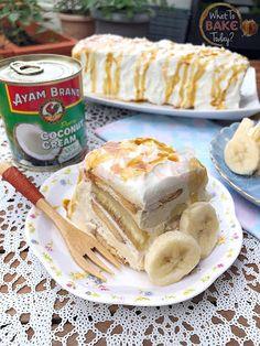 What To Bake Today: Salted Gula Melaka, Coconut Cream and Banana Magic Icebox Cake