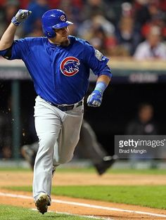 Kyle Schwarber,CHC//Oct 26,2016 Game 2 World Series at CLE