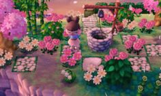 """demetria-crossing: """"visiting the dream town of bramblescrossing ^-^ i loved it, and i want so bad that villagers çwç Foxdenn Motif Acnl, Ac New Leaf, Cute Games, Kawaii, Animal Crossing, Otaku, Coins, Inspiration, Painting"""