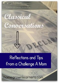 Classical Conversations - Challenge A: Reflections and Tips