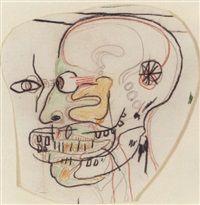 Untitled Skull by Jean-Michel Basquiat