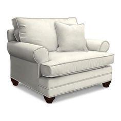XL Chair and A Half in Woven Linen | Nebraska Furniture Mart
