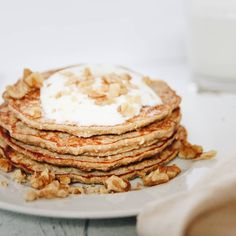 Having a late lunch today! #late #lunch #healthy #banana #oatmeal #pancakes with #walnuts and #honey #new #recipe #comingsoon #yummy #food #photography #foodphotography #eeeeeats #inthekitchen #onthetable #foodandwine #lifeandthyme #feedfeed @thefeedfeed #huffposttaste #buzzfeedfood #ichliebefoodblogs #foodblogger