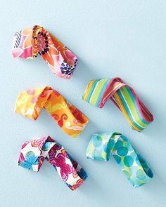 Swimming headband for girls