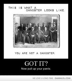This Is What True Gangsters Look Like..