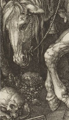 Knight, Death and the Devil by Albrecht Dürer (1513)-detail
