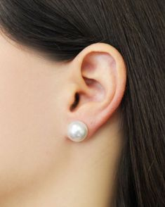 d1c3a6852561 Freshwater Cultured Pearl Stud Earrings - C est Ça New York