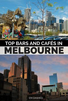 There are loads of great bars and cafés in Melbourne -- which can make choosing a spot to go rather overwhelming. Click through for a few suggestions on where to eat and drink, from a blogger who spent seven months living and working in the city. | #Melbourne #Victoria #Australia