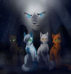 "Unknown cats//""Young SongBird you need to come with us, We are apart of a prophecy, we are protecting you from the evil to come.""//SongBird//""I can protect myself."""
