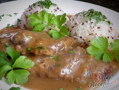 Hovädzia roštenka s jasmínovou ryžou a červená quinoa Quinoa, Pork, Meat, Chicken, Kale Stir Fry, Pork Chops, Cubs