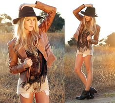 Mango Leather Jacket, Mango Necklace, Lf Top, Sammy Dress Shoes, Forever 21 Hat