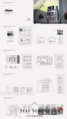 [STAY STUDIO] ARCHITECTURE PORTFOLIO | 건축 포트폴리오 | #StayStudio Studios Architecture, Architecture Panel, Architecture Portfolio, Art Deco Living Room, Portfolio Layout, Page Layout, Design Projects, Interior Design, Design Ideas