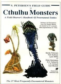 Cthulhu- I actually have this book!!