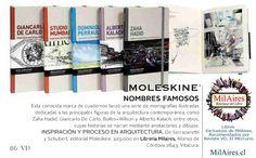 Moleskine lanza monografías ilustradas de Arquitectura  - MilAires, Boutique del Libro.
