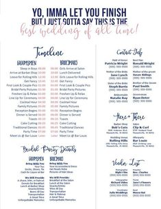 Wedding Checklist Editable Template - Call Anyone but the Bride and Groom (Pink-Blush/Navy) - Wedding Day Schedule, Ch - Do It Yourself Wedding, Plan Your Wedding, Budget Wedding, Wedding Tips, Wedding Venues, Wedding Speeches, Wedding Registry Ideas, Wedding To Do List, Wedding Hacks