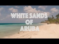 (3) Aruba's Western Shore Virtual Run - YouTube