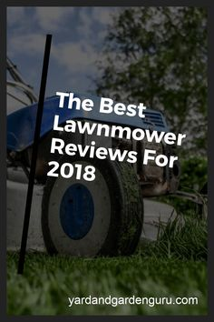 Choosing the right lawn mower for your yard is very important. #garden #gardening #lawn