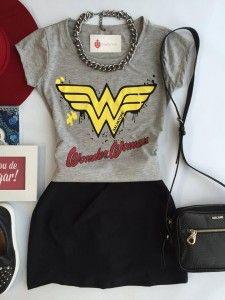Preview de Outono - Estação Store Ideias Fashion, Classy, Wonder Woman, My Style, Womens Fashion, Geek Stuff, Outfits, Color, Tattoos