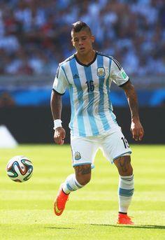 Marcos Rojo Photos: Argentina v Iran: Group F - 2014 FIFA World Cup Brazil