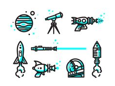 Space Icons//Nick Slater