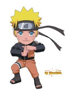Render Chibi Naruto by Marcinha20.deviantart.com on @DeviantArt