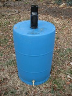 Picture of The best RAIN BARREL for less than $15, and where to find a barrel