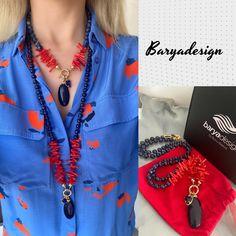 Bead Jewelry, Lapis Lazuli, Beads, Instagram, Fashion, Handmade Necklaces, Beaded Jewelry, Beading, Moda