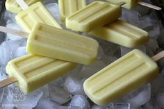 3 Ingredient Coconut Pineapple Popsicles