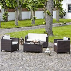 MONACO Salon de jardin aspect rotin tressé Pour en savoir + suivez ...